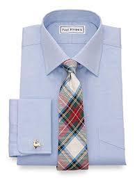 Paul Fredrick Size Chart Paul Fredrick Mens Pinpoint Windsor Spread Collar French Cuff Dress Shirt