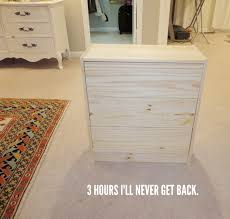 Rustoleum Driftwood Stain Livelovediy Diy Ikea Rast Makeover With Weathered Gray Wood Stain