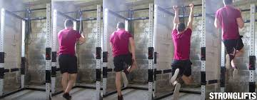 Pull Up Band Assistance Chart How To Do Pullups With Proper Form Full Guide Stronglifts