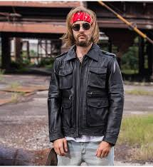 resident evil jacket mens motorcycle coat biker style
