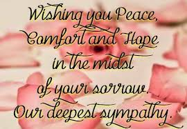 Condolences Quotes New The 48 Condolence Quotes WishesGreeting