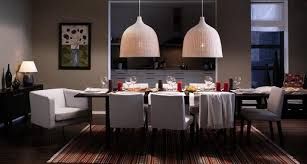 san francisco chandelier ikea with transitional dining side chairs room modern and pendant lamp wood table