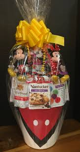 mickey and minnie mouse large basket