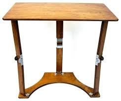 spiderlegs wooden folding laptop desk tray table warm oak tv trays