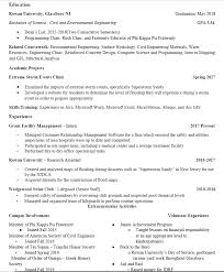 Fraternity Resume Looking For An Entry Level Civil Engineering Job Resumes