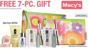 this is bonus time at macy s yours with 27 clinique purchase