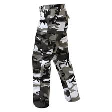 Rothco 7890 Color Camo Tactical Bdu Pants