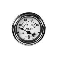 ammeter and voltmeters stewart warner 82481 wings voltmeter gauge white