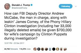 Image result for andrew mccabe weasel