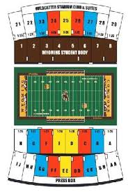 War Memorial Stadium Wyoming Seating Chart Wyoming Cowboys Tickets 34 Hotels Near War Memorial