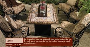 fire pit dining table. Largo Fire Pit OW Lee Dining Table