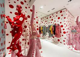 louis vuitton yayoi kusama. the 2012 collaboration with yayoi kusama saw walls, windows and displays of louis vuitton