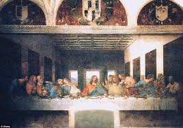 the last supper another of da vinci s most prominent works with several historians identifying