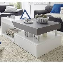 tuna storage coffee table in matt white