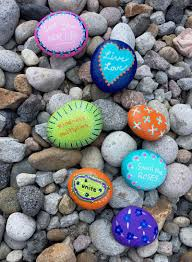Do you need rock painting ideas for spreading rocks around your  neighborhood or the Kindness Rocks