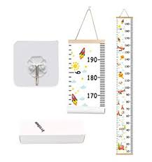 Kids Growth Chart Bingolar Kids Growth Chart Children Height Chart Growth Wall Chart Height Wall Chart Art Hanging Rulers For Kids Bedroom Nursery Wall Decor Removable