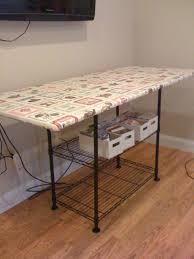 ironing board furniture. think simple shelf a wire unit with extra large iron station is perfect ironing board furniture