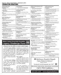 Ottawa Jewish Bulletin (September 9, 2013) by David Berman - issuu