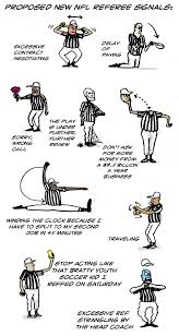 Baseball Signals Chart Suggested New Nfl Referee Signals Fandom Espn Playbook Espn