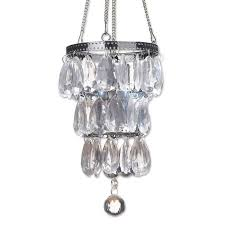 camper glam battery powered anywhere mini chandelier how