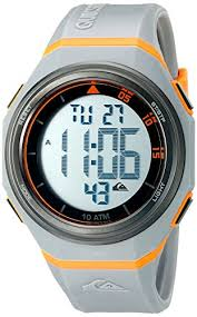 quiksilver the breaker men s digital watch lcd dial digital quiksilver the breaker men s digital watch lcd dial digital display and grey silicone strap qs 1019gyor amazon co uk watches