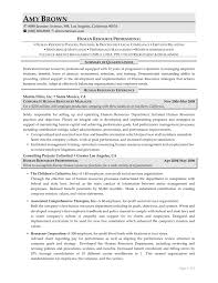 Confortable Human Resources Job Resume Objective About Resume