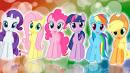 Игры для девочек пони создай открытку