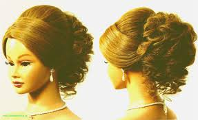 Wedding Hairstyle Updo With Veil Inspirational Medium Length