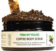 Coffee cellulite scrub are suitable for all sorts of skin types, be it dry, oily, combination or. Amazon Com Deluge 100 Organic Arabica Coffee Scrub 8 Oz Exfoliate Dead Skin Cells Natural Remedy For Anti Cellulite And Stretch Marks Spider Veins Two In One Moisturizing And Exfoliator 8 Oz
