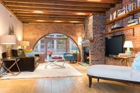 the brick condo furniture. $2.8M Condo At Former Greenwich Village Horse Stable Boasts Great Windows And Exposed Brick The Furniture