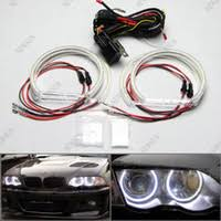 where to buy angel eyes wiring harness kit online where can i buy high power xenon white smd led light angel eyes projector halo rings marker kit for bmw e36 e38 e39 e46 relay harness wire