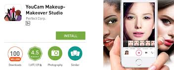 super app youcam makeup earns elite 100 million s badge in google play business wire