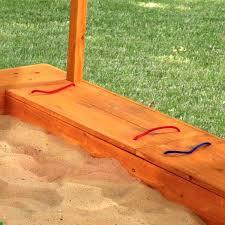 kidkraft backyard sandbox reinforced wooden panels prevent warping and weathering kidkraft outdoor sandbox with canopy kidkraft