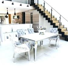 white gl dining table and chairs impressive rectangular gl dining table set room tables amazing modern