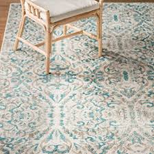 bungalow rose ya turquoise area rug reviews wayfair regarding remodel 0