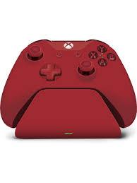 Xbox Design Lab Pro Charging Stand Microsoft Controller Gear Xbox Pro Charging Stand Oxide Red