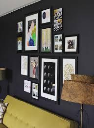 gray wall art gallery