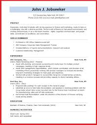 Formats For Resume Simple Format In Resume Pelosleclaire