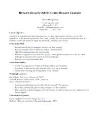 Cover Letter Network Administrator Cover Letter System Analyst