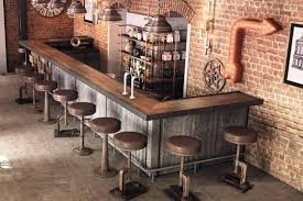 industrial rustic design furniture. Industrial Home Bar Ideas Rustic Design Elegant Style Industrial Rustic Design Furniture T