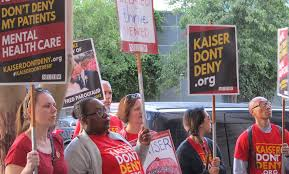 California Kaiser mental health clinicians in fight for patient care ...