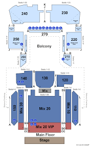 Detroit Concert Tickets Seating Chart Motorcity Casino Hotel