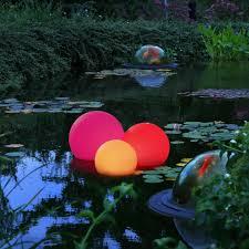 koi pond lighting ideas. Orb Lighting Idea For A Koi Pond Ideas