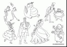 Small Picture surprising princess and frog coloring pages with princess tiana