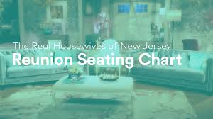 The Real Housewives Of New Jersey Season 8 Reunion Seating
