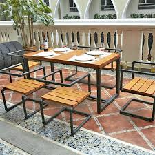 wood and wrought iron furniture. Iron Furniture Retro Dinette Combination Restaurant Hotels Snack Wood Wrought . And A
