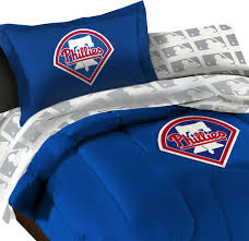 mlb philadelphia phillies baseball bedding set contemporary sheet and pillowcase sets by 51 llc
