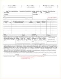 bill of lading printable form straight bill of lading template with straight form bill lading