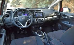 2018 honda interior. unique 2018 quality materials solid construction and impressive outward visibility  characterize the 2018 fitu0027s interior with honda interior