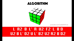 How To Solve The Rubiks Cube Using Algorithm Universal Solution